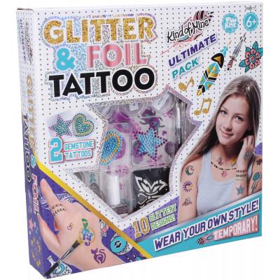 FunKidz Tetování se třpytkami