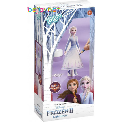 Kreativní sada Ledové království II/Frozen II v krabičce - Vyrob si lampičku