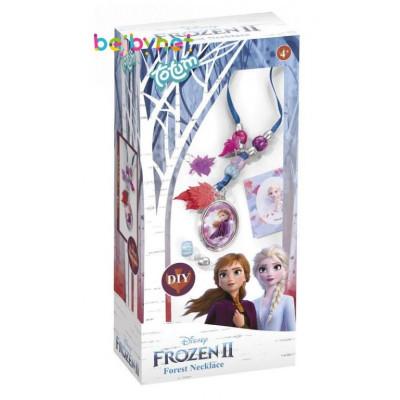 Kreativní sada Ledové království II/Frozen II v krabičce - Vyrob si náhrdelník