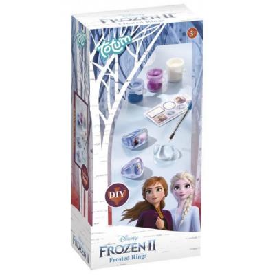Kreativní sada Ledové království II/Frozen II v krabičce - Vyrob si prstýnek