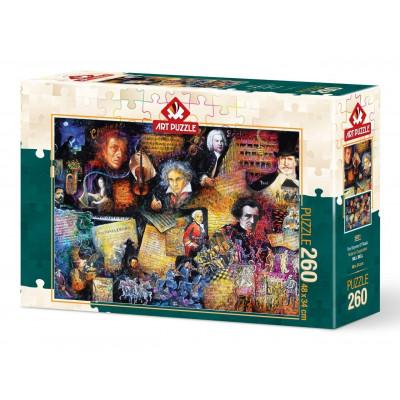 ART PUZZLE Puzzle Hudební velikáni 260 dílků