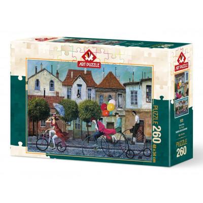 ART PUZZLE Puzzle Jednokolka 260 dílků