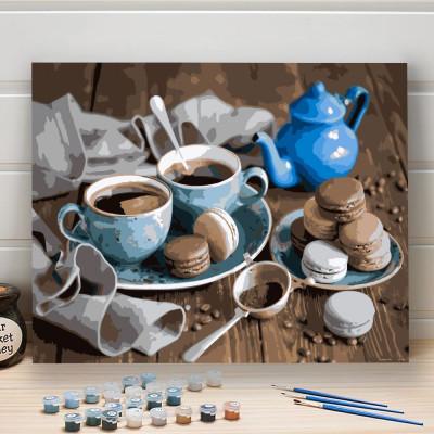 Malování podle čísel - káva