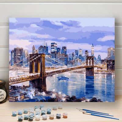 Malování podle čísel - Brooklyn