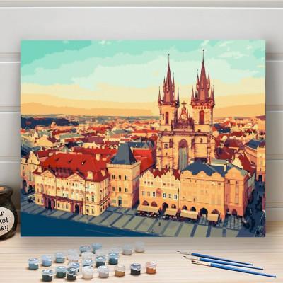 Malování podle čísel - Staroměstské náměstí