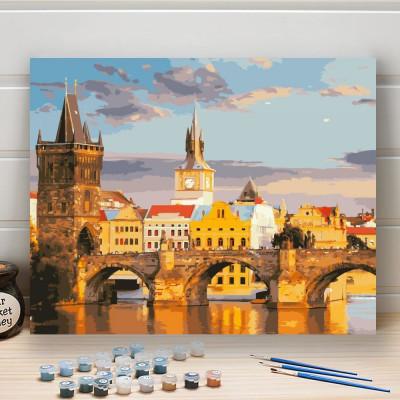 Malování podle čísel - Karlův most