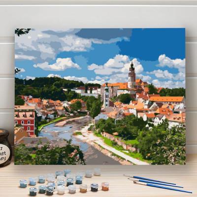 Malování podle čísel - Český Krumlov