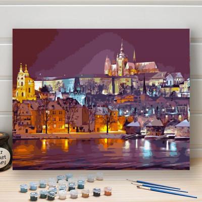 Malování podle čísel - Pražský hrad