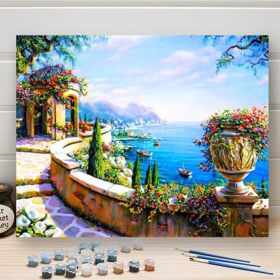 Malování podle čísel - moře
