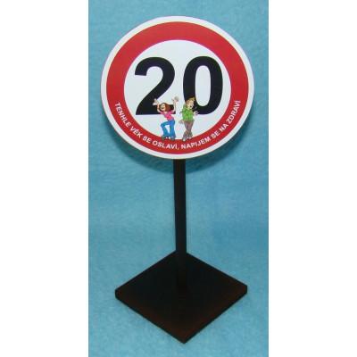 Značka - 20 - Tenhle věk se oslaví