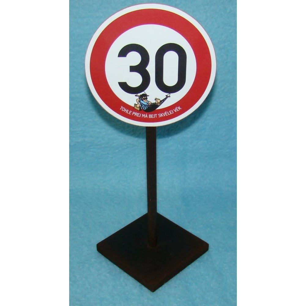 Značka - 30 - Tohle prej má být skvělej věk