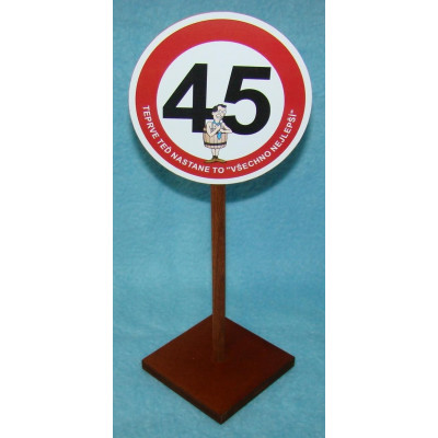 Značka - 45 - Pro muže - Teprve teď nastane