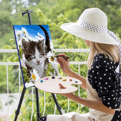 Malování podle čísel - koťátko