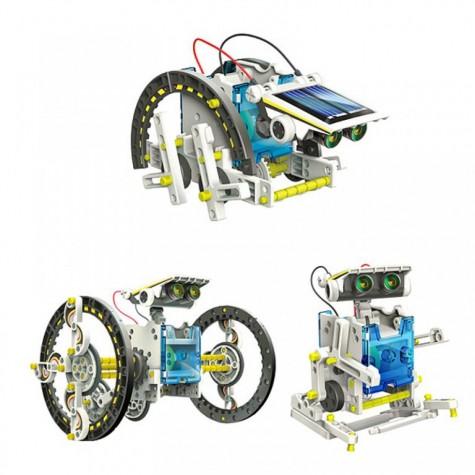 Solární stavebnice SolarBot 13v1