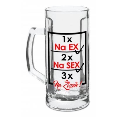 Půllitr - Na Ex
