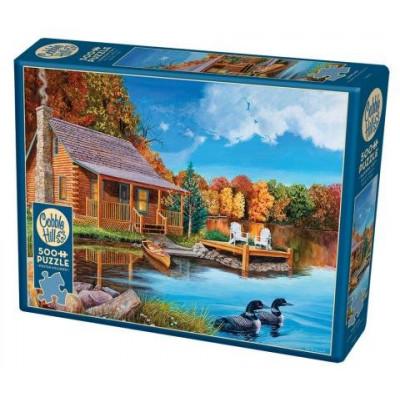 COBBLE HILL Puzzle Jezero 500 dílků