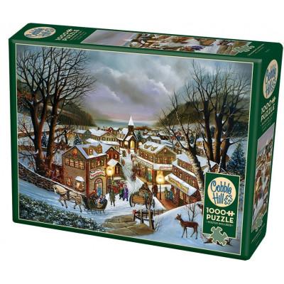 COBBLE HILL Puzzle Vzpomínka na Vánoce 1000 dílků