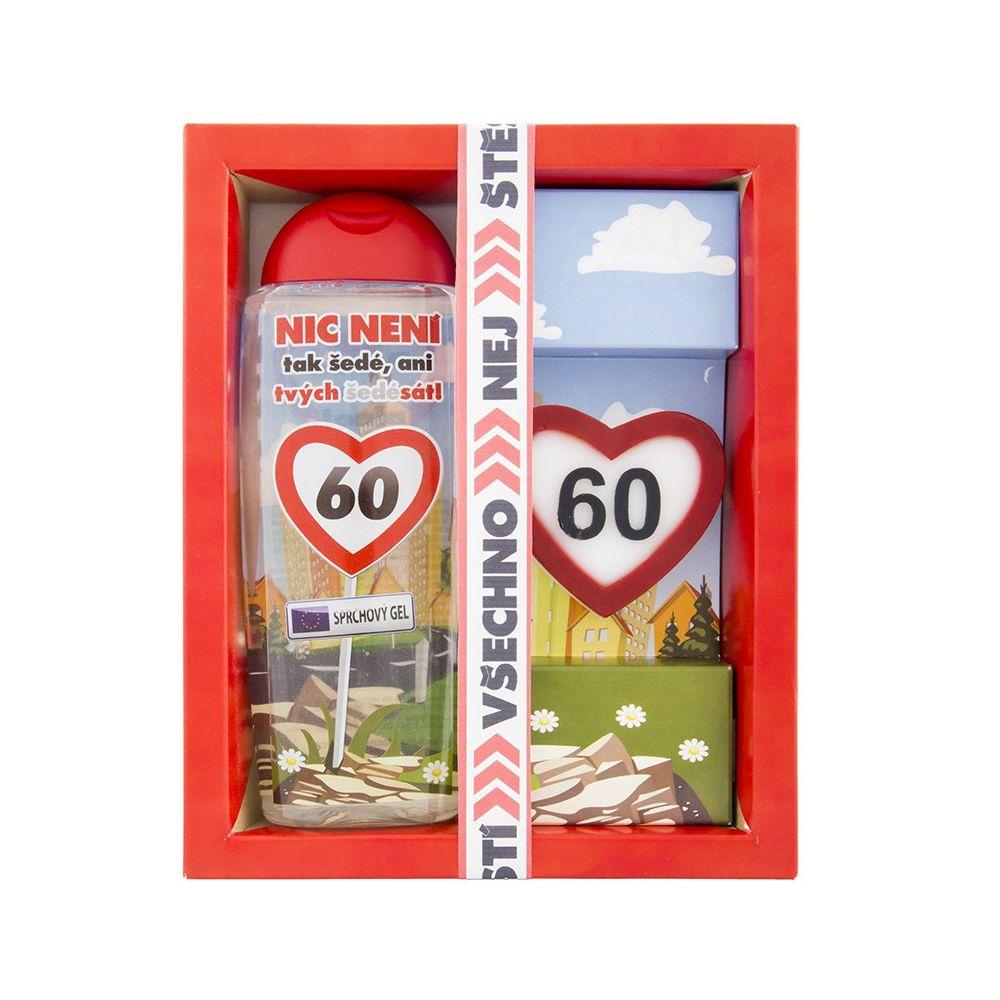 Kosmetický balíček - Vše nejlepší 60