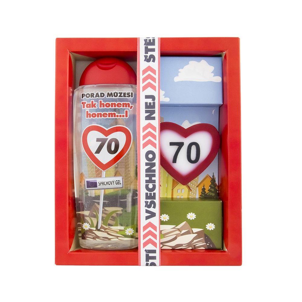 Kosmetický balíček - Vše nejlepší 70