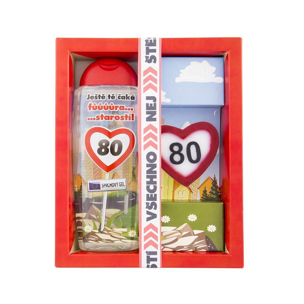 Kosmetický balíček - Vše nejlepší 80