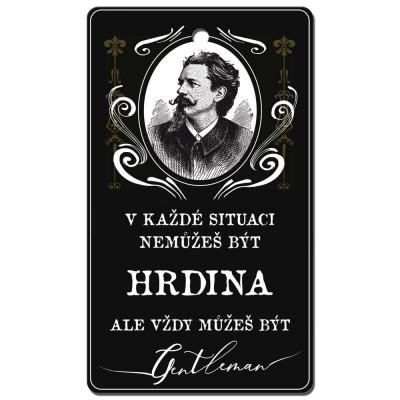 Aromatická karta do auta - Gentleman
