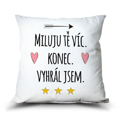 Ahome Polštář - Miluju Tě víc, Vyhrál jsem