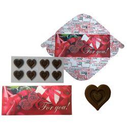 Čokoládová obálka - Růže 60g