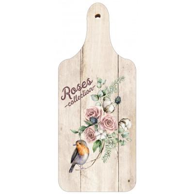 Dekorační prkénko - Roses collection