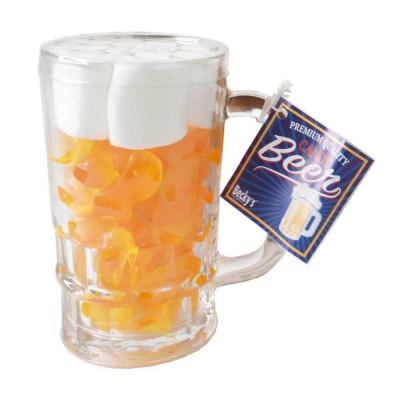 Želé bonbony a marshmallows v pivní sklenici 250 g