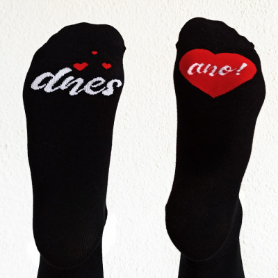 Veselé ponožky - Dnes ANO