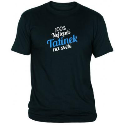 Tričko - Nejlepší tatínek - černé