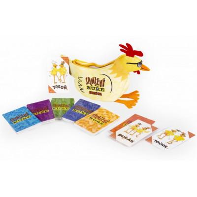 Albi Splašený kuře - karetní hra