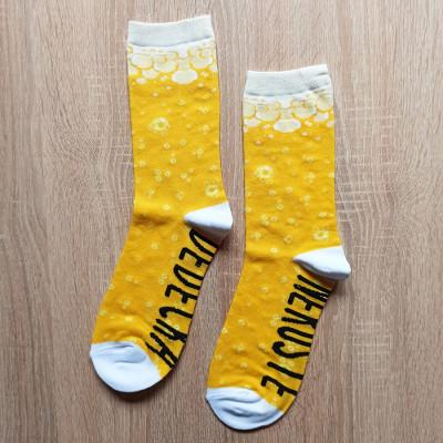 Veselé ponožky - Nerušte dědečka