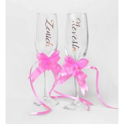Set na šampaňské - Ženich a Nevěsta