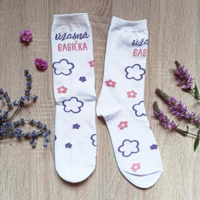 Veselé ponožky - Úžasná babička