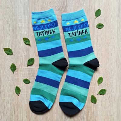 Veselé ponožky - Nejlepší tatínek