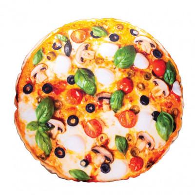 3D polštář 42 cm - Pizza