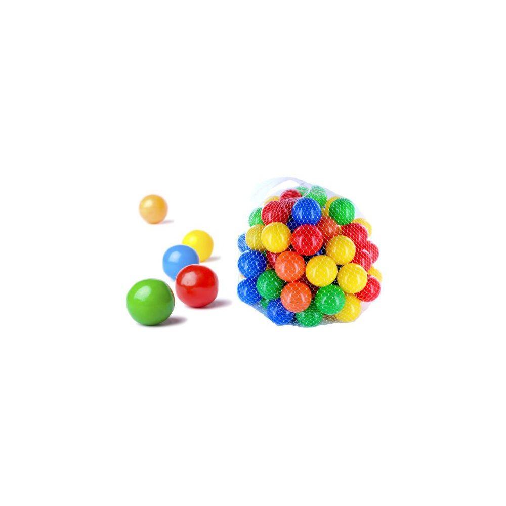 Plastové míčky 7cm - 100ks