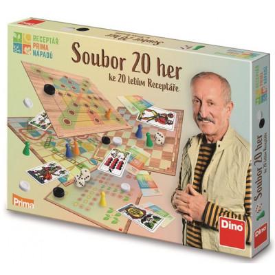 Dino Receptář Prima nápadů -  Soubor 20 her
