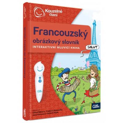 Albi Kouzelné čtení - Kniha Francouzský obr. slovník