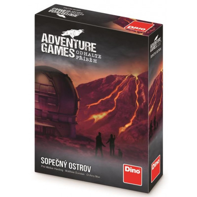 Dino Adventure games: Sopečný ostrov Párty hra