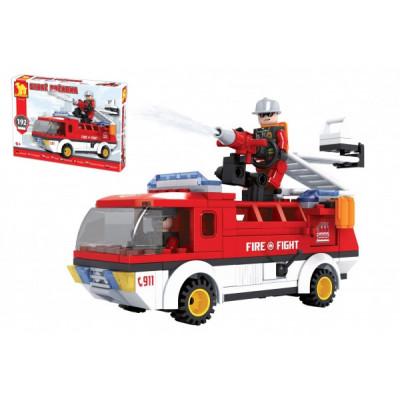 Stavebnice Dromader auto hasiči 192 dílků