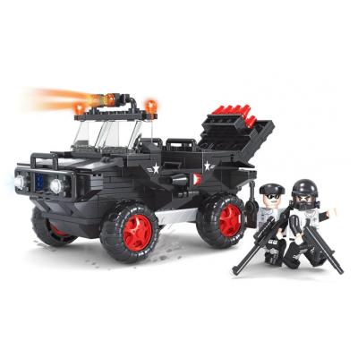Stavebnice Dromader SWAT Policie Auto 288ks