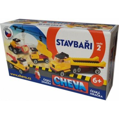 Stavebnice Cheva 2 Basic plast 352ks v krabici
