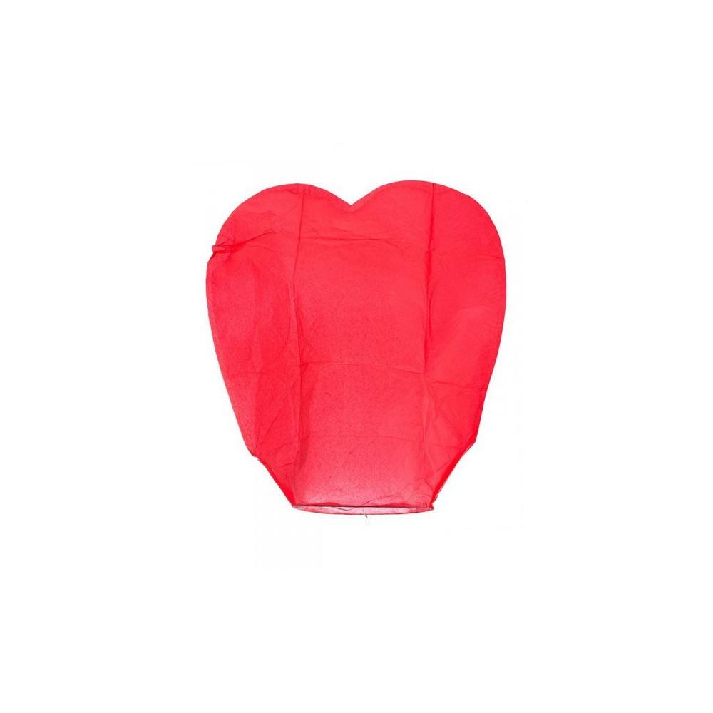 Lampión štěstí - srdce