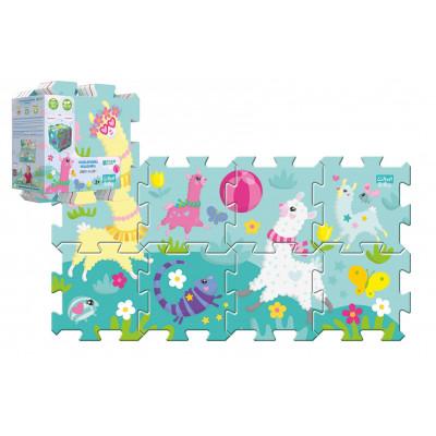 Trefl Pěnové puzzle 8ks Hra s lamou 32x32cm
