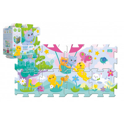 Trefl Pěnové puzzle 8ks Koťátka 32x32cm