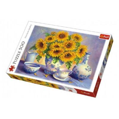Trefl Puzzle Slunečnice malované 500 dílků