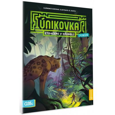 Albi Kniha Ztraceni v Džungli (Únikovka Junior)