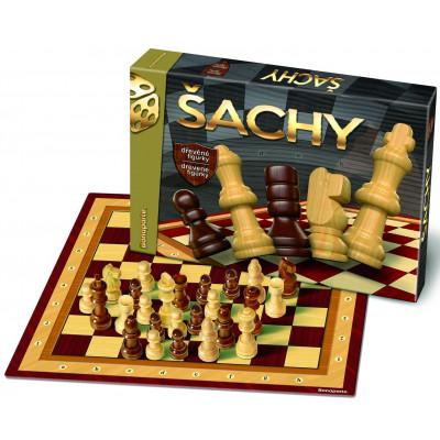 Bonaparte Šachy dřevěné společenská hra